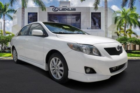 Pre-Owned 2009 Toyota Corolla S FWD 4D Sedan