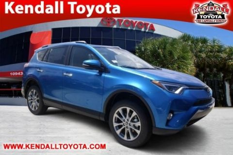 New 2016 Toyota RAV4 Limited FWD 4D Sport Utility